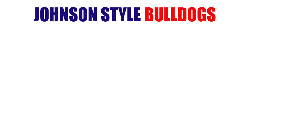 Johnson Style Bulldog